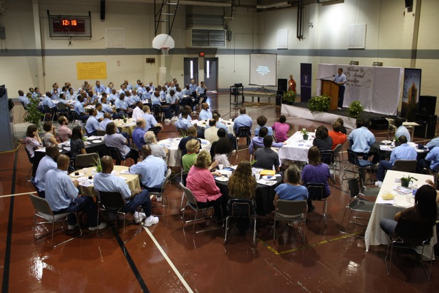 Award Convocation at the Danville Correctional Ctr