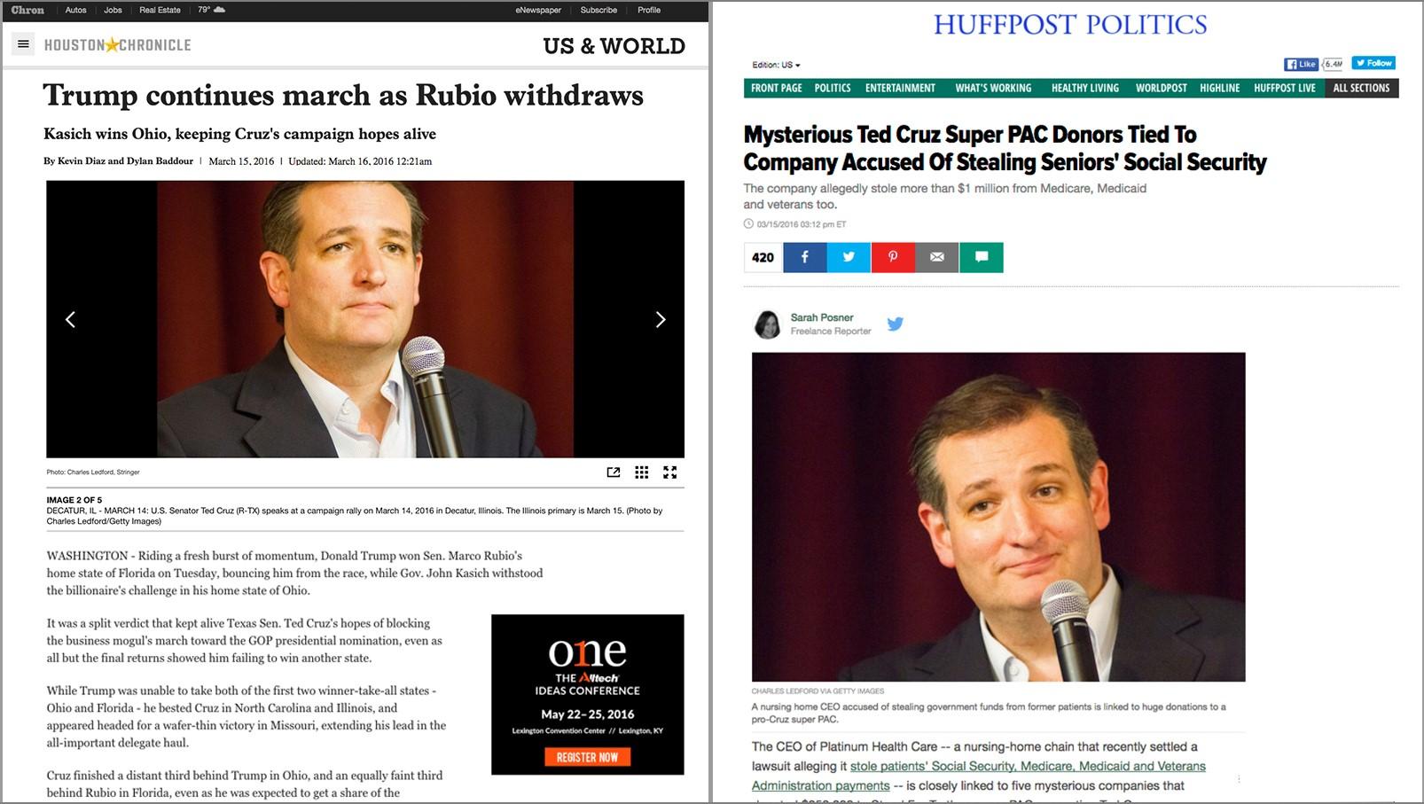 Cruz campaign