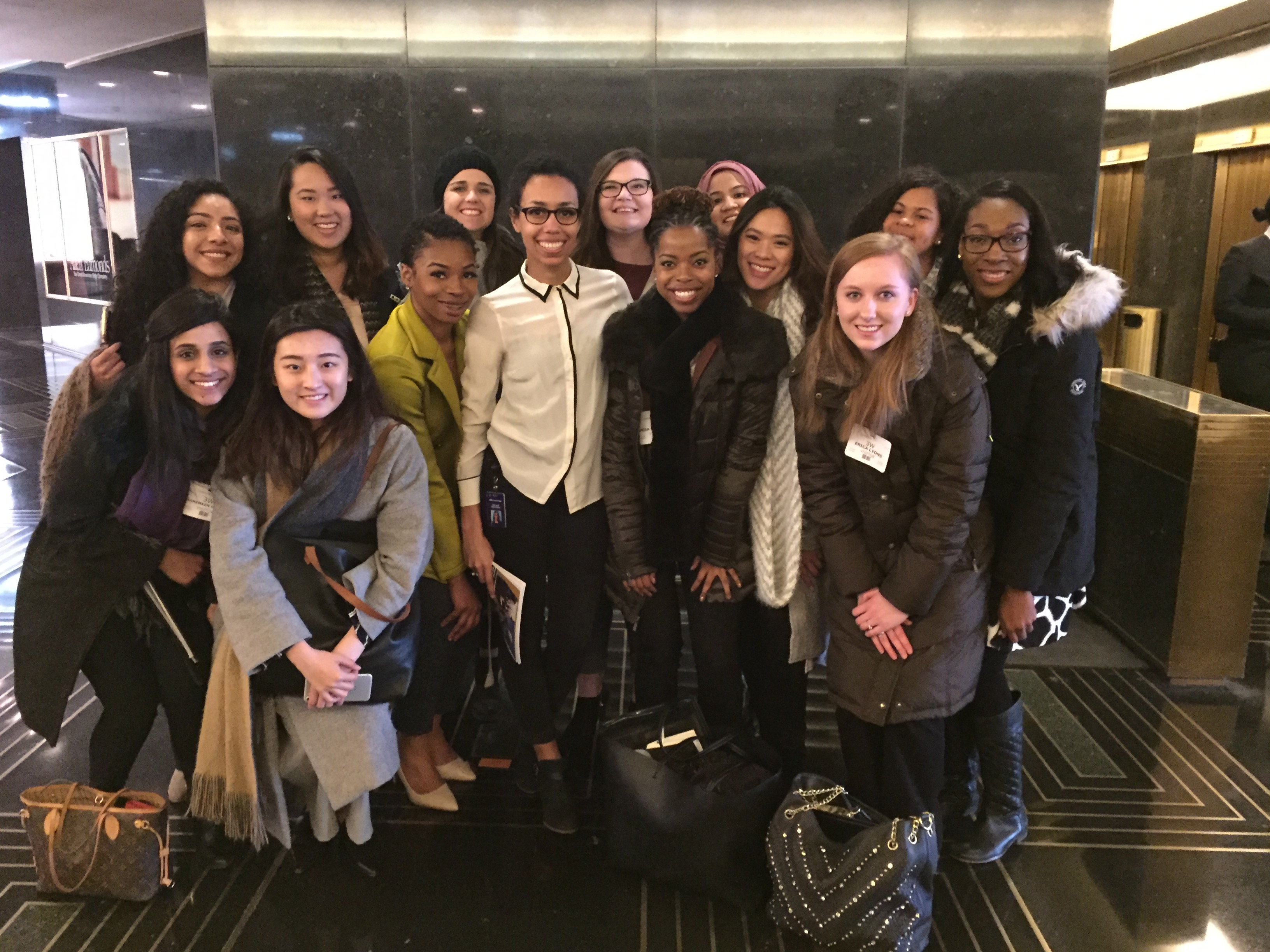Students visit MSNBC