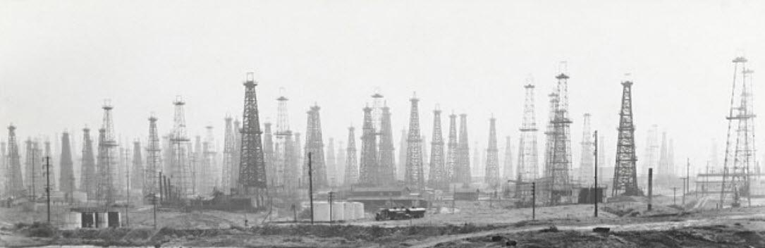 Oil-Derrick-Forest
