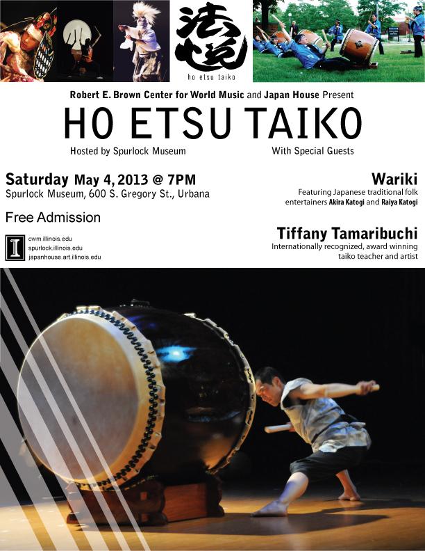 Ho Etsu Taiko Concert