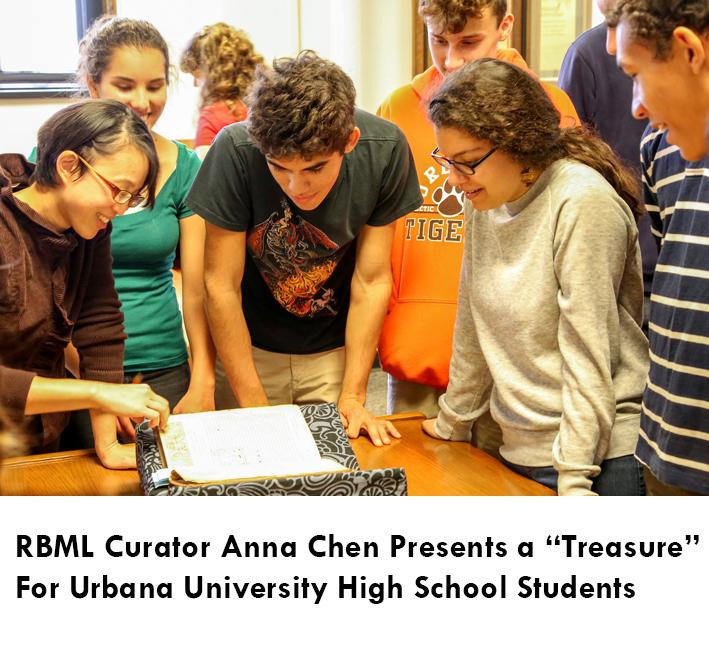 Anna Chen teaching a class
