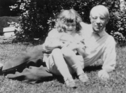 Helga and Carl Sandburg