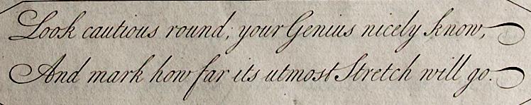 fine cursive