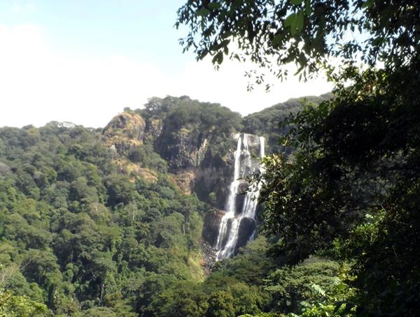 Sanje Falls in the Udzungwa Mountains, Tanzania