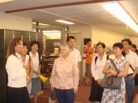 Touring the Urbana Free Library