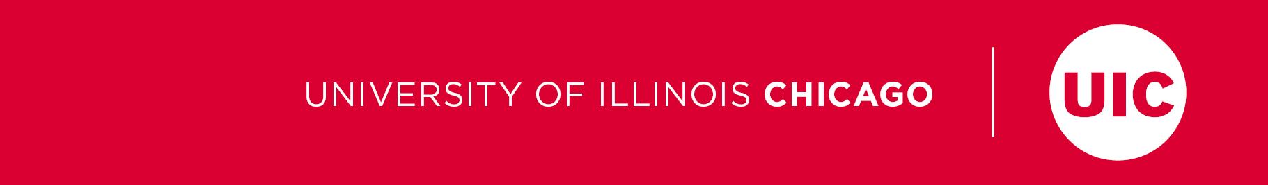 University of Illinois Chicago and UIC circle logo