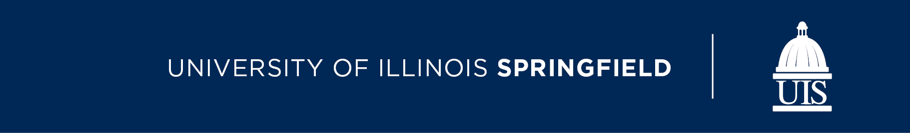 University of Illinois Springfield and UIS dome logo