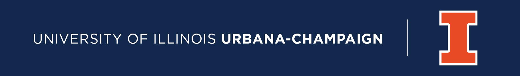 University of Illinois Urbana-Champaign and Block I logo